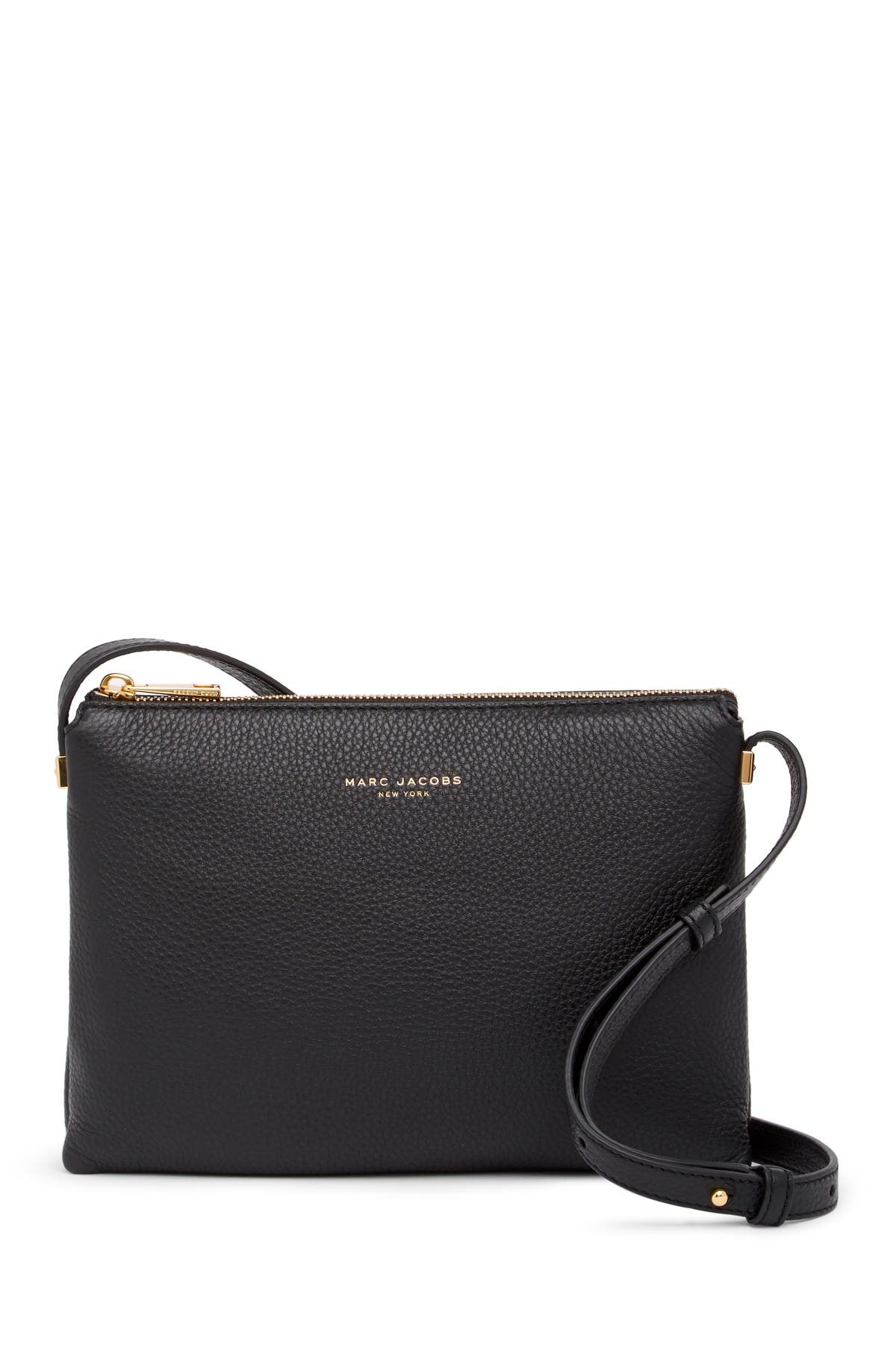 Image of Marc Jacobs Leather Crossbody Bag