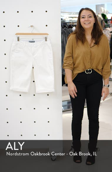 Ab-solution White Bermuda Shorts, sales video thumbnail