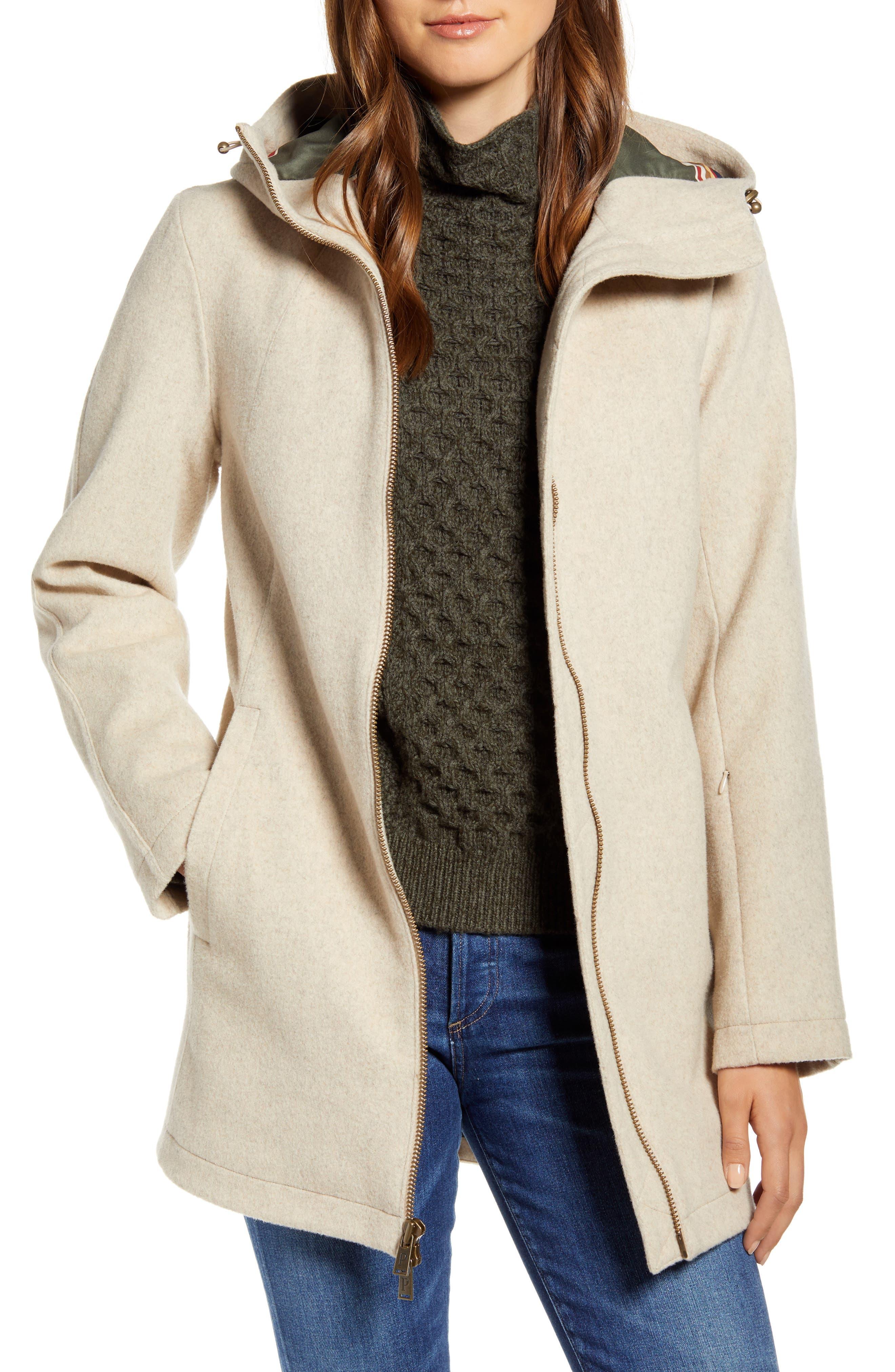 Pendleton Finlay Waterproof Hooded Wool Blend Coat