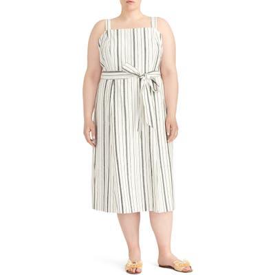 Plus Size Rachel Roy Collection Stripe Sundress, Ivory