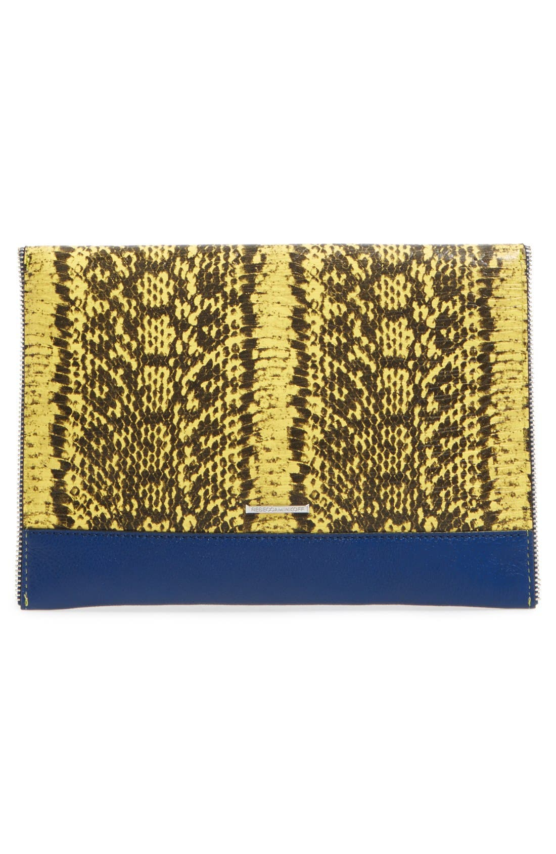 ,                             Leo Envelope Clutch,                             Alternate thumbnail 189, color,                             404