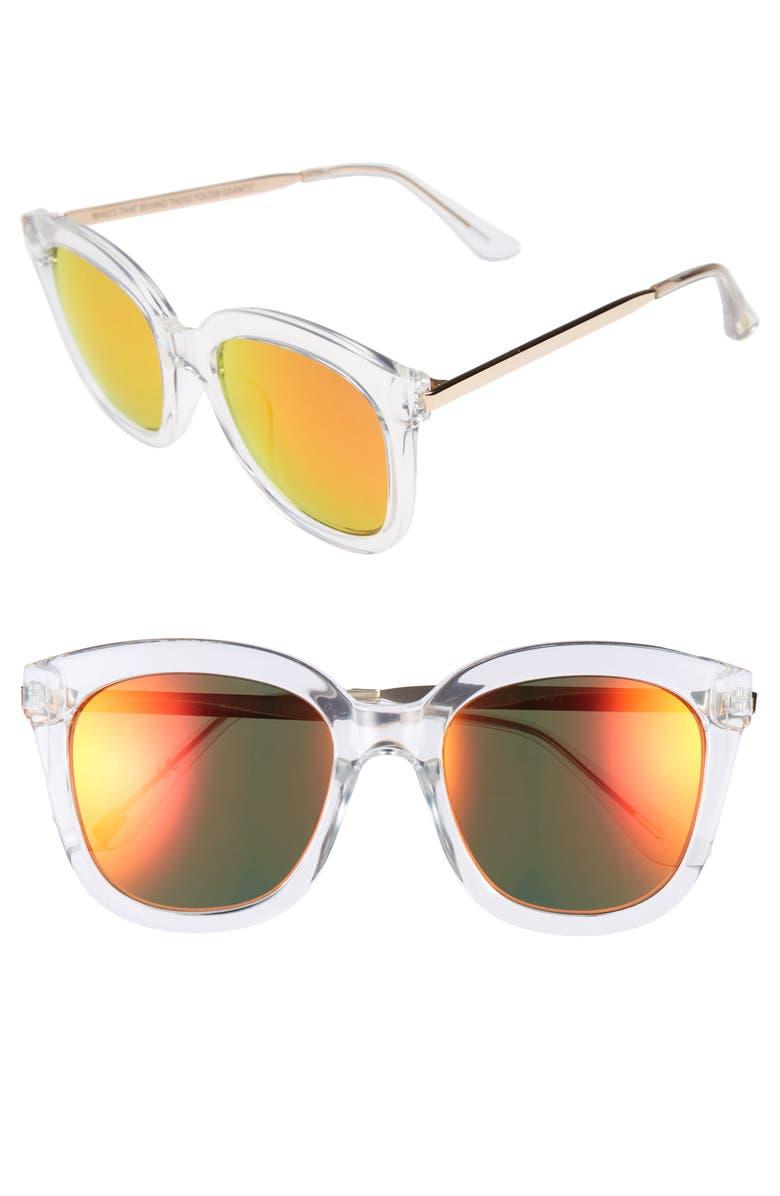 ITEM 8 DD.7 54mm Sunglasses, Main, color, 100