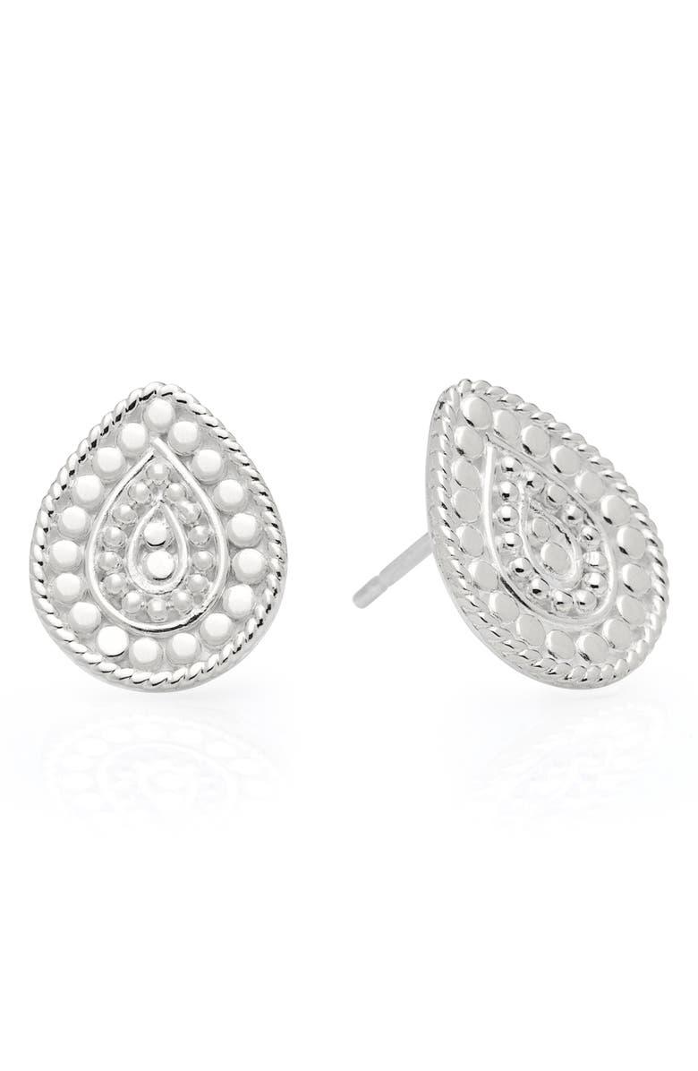 ANNA BECK Beaded Teardrop Stud Earrings, Main, color, 040