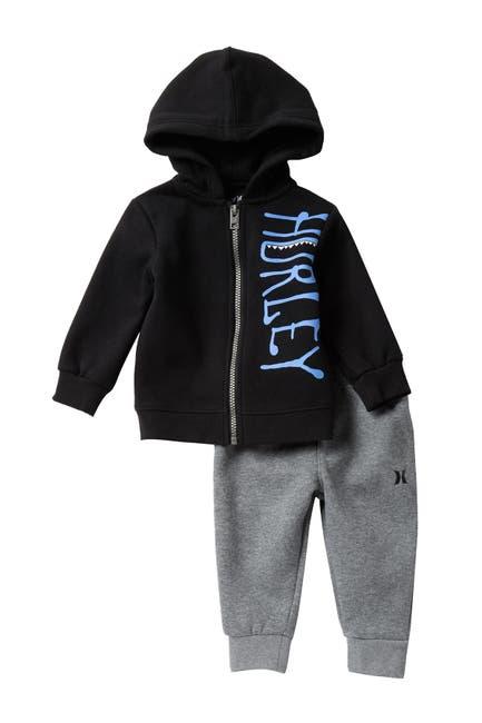 Image of Hurley Novelty Fleece Jacket & Pants 2-Piece Set