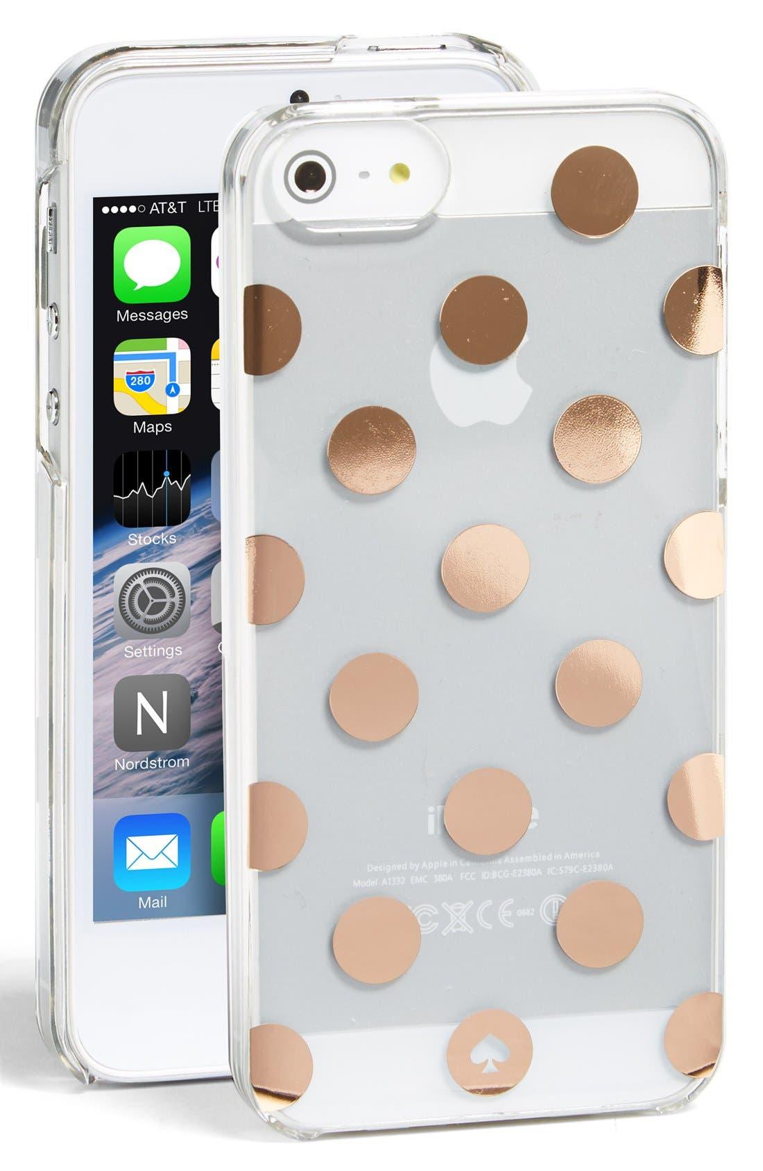 'le pavillion' iPhone 5 & 5s case, Main, color, 999