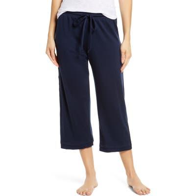 Groceries Apparel Crop Lounge Pants, Blue