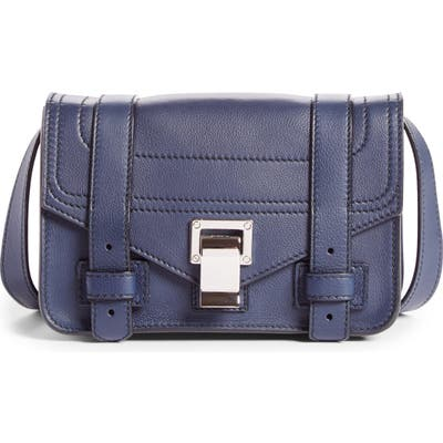 Proenza Schouler Mini Ps1 Leather Crossbody Bag - Purple