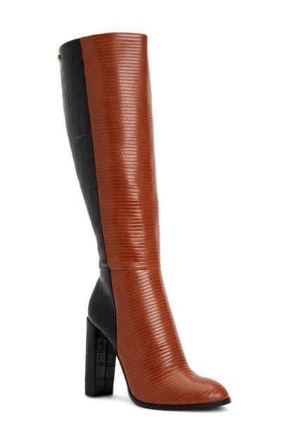 Calvin Klein KERIE COLORBLOCK KNEE HIGH BOOT