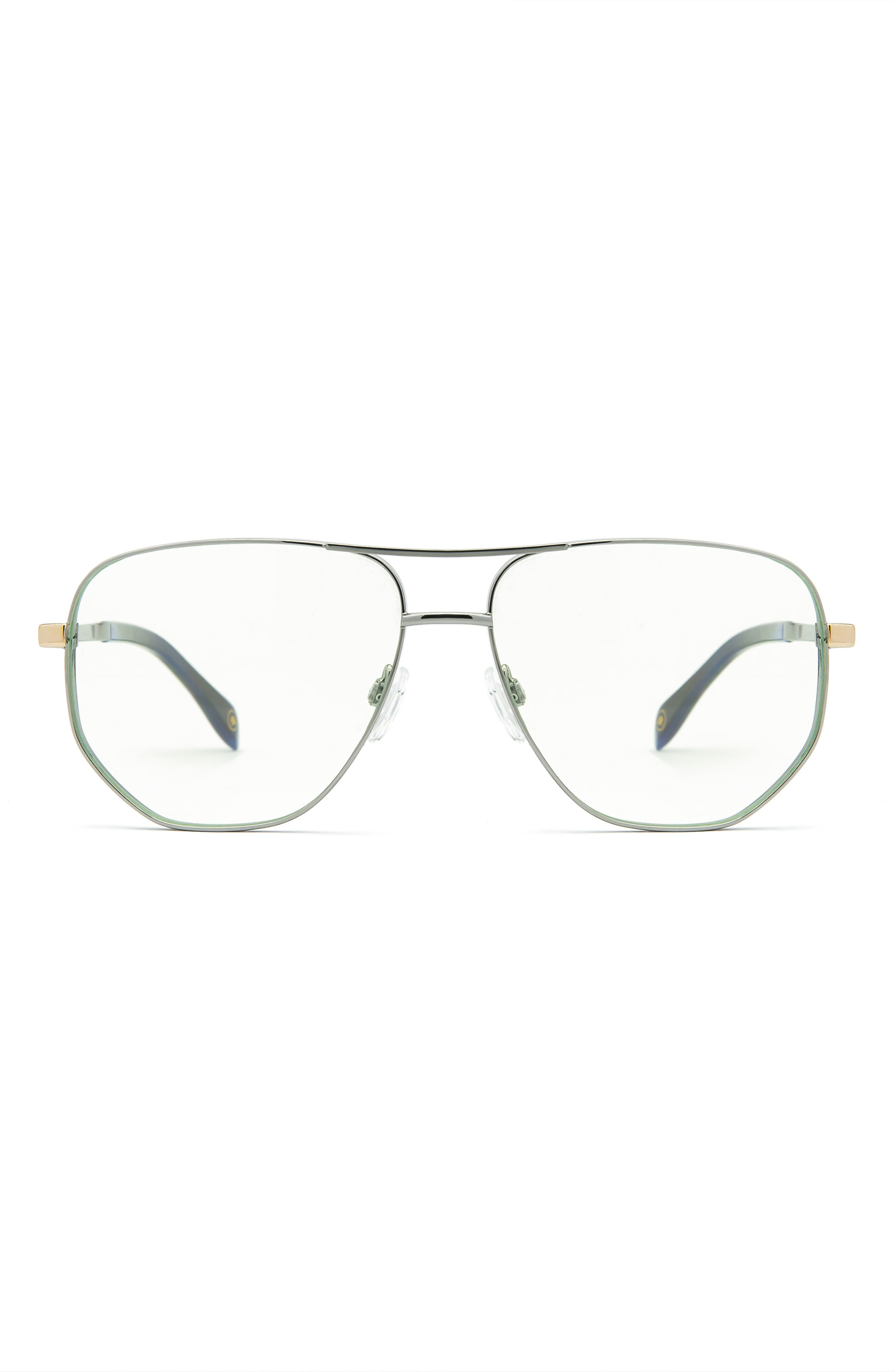 57mm Aviator Blue Light Blocking Glasses
