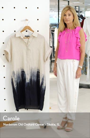 Jasarah Linen Shirtdress, sales video thumbnail