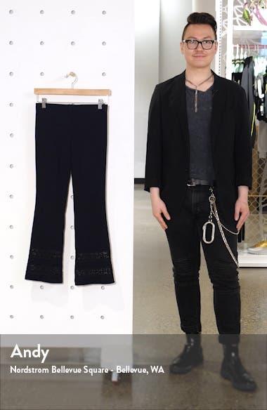 Poseidon Lace Inset Crop Pants, sales video thumbnail