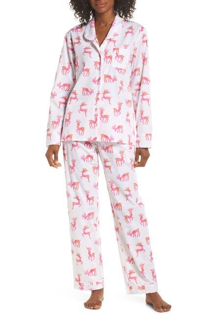 Image of SANT AND ABEL Reindeer Pants & Shirt Pajama 2-Piece Set