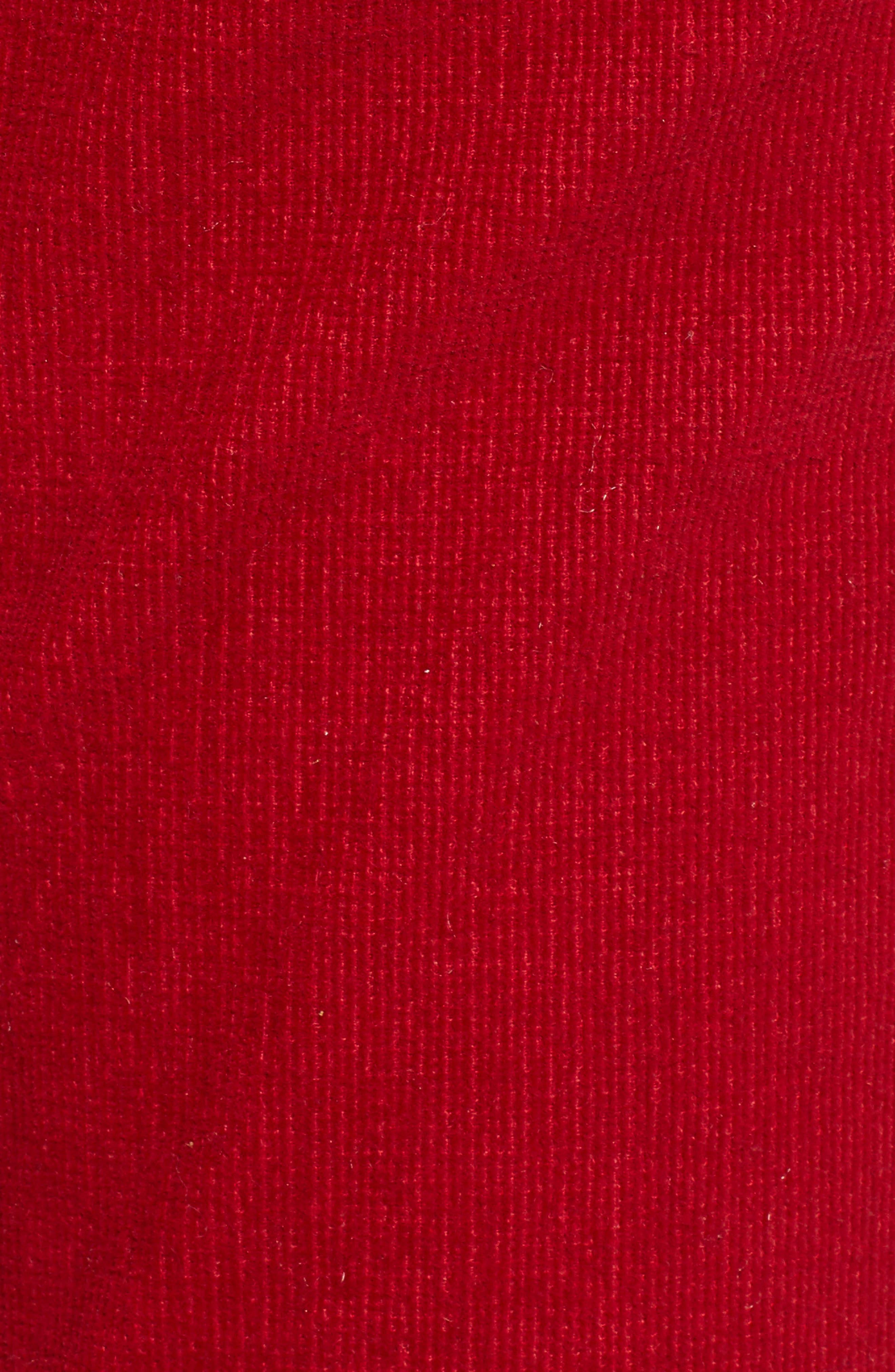 ,                             Corduroy Slim Crop Flare Pants,                             Alternate thumbnail 6, color,                             637