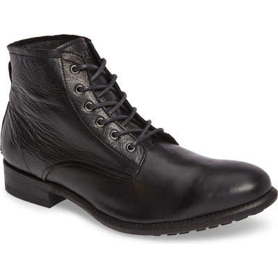 Blackstone Km 21 Plain Toe Boot - Black