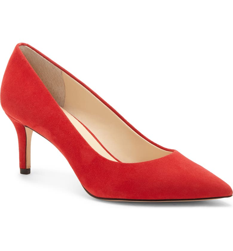 ENZO ANGIOLINI Ranci Pump, Main, color, LIPSTICK SUEDE