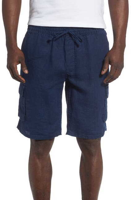 Image of Onia Tom Cargo Linen Shorts
