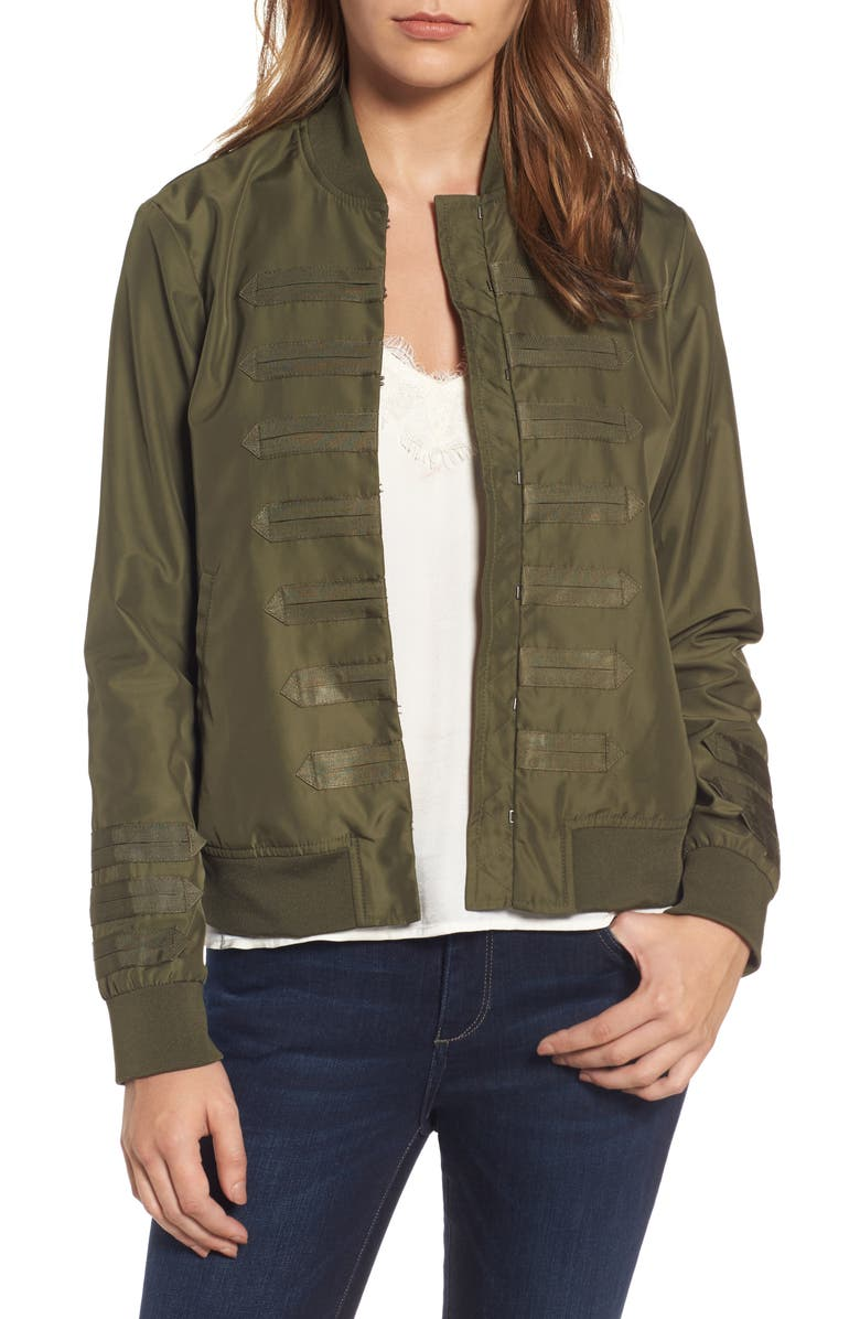 CHELSEA28 Military Bomber Jacket, Main, color, 311