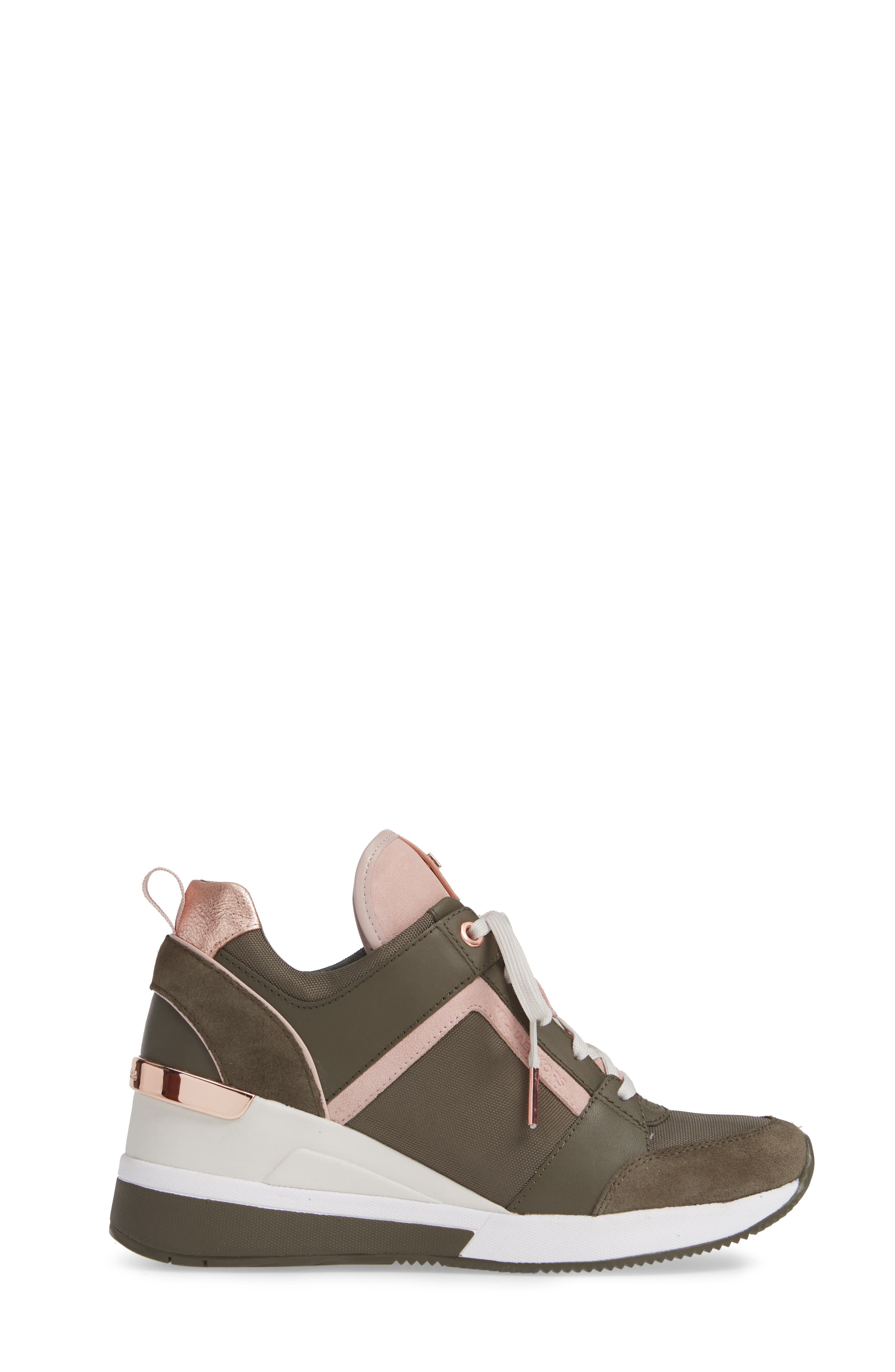 ,                             Georgie Wedge Sneaker,                             Alternate thumbnail 27, color,                             333