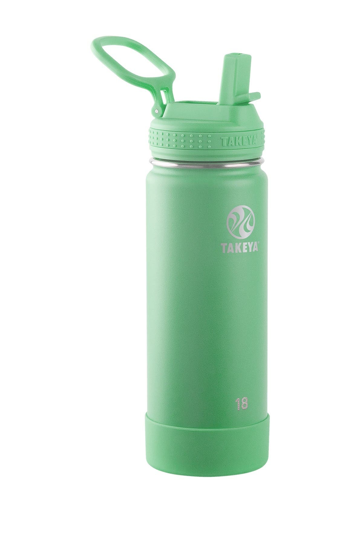 Image of Takeya Actives 18 oz. Straw Bottle - Mint