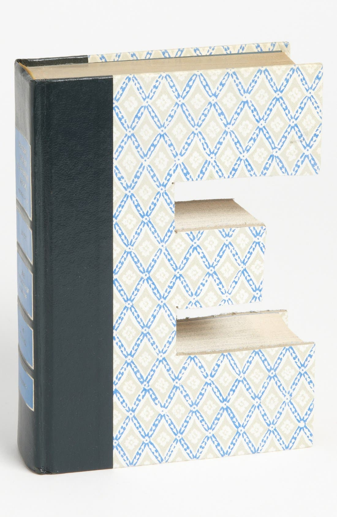 ,                             'One of a Kind Letter' Hand-Carved Recycled Book Shelf Art,                             Main thumbnail 21, color,                             204