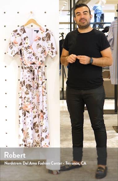 Armiose Crepe Maxi Dress, sales video thumbnail