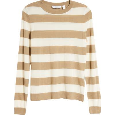 Boss Fecilia Stripe Wool Sweater
