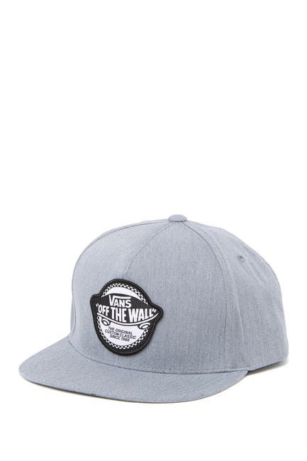 Image of VANS Checker Logo Patch Snapback Cap
