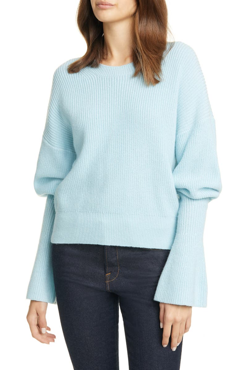 JOIE Soleine Juliet Sleeve Wool Sweater, Main, color, 450