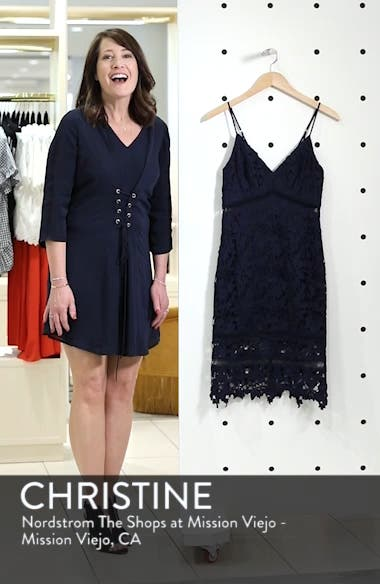 ASTR Lace Bodycon Dress, sales video thumbnail