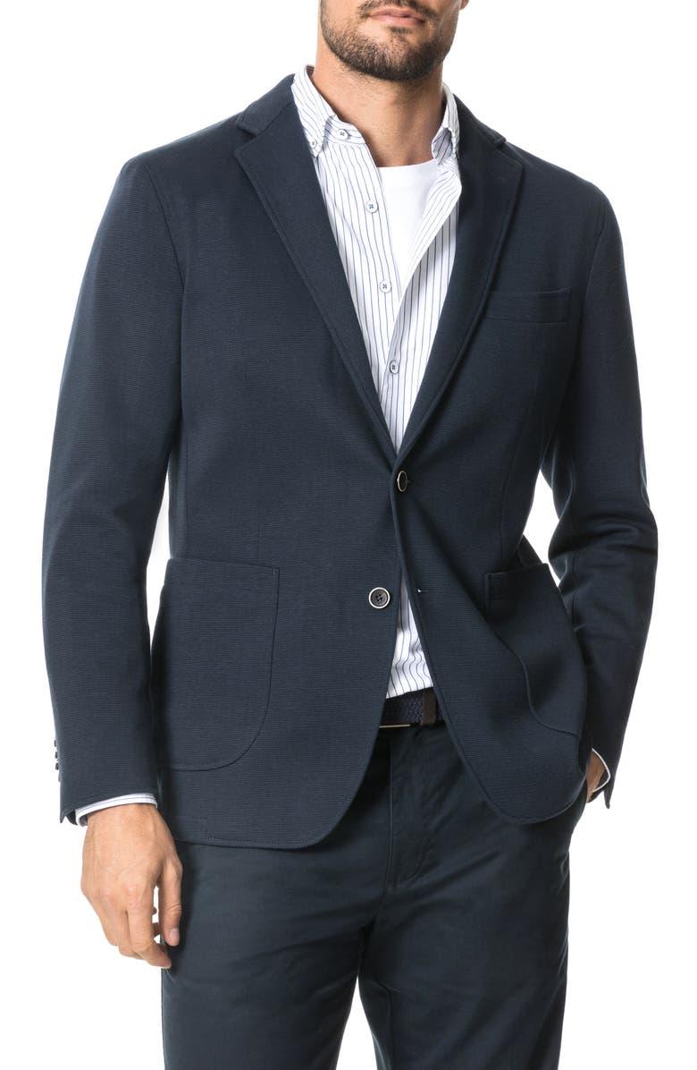 RODD & GUNN Savill Bay Regular Fit Knit Stretch Cotton Blend Sport Coat, Main, color, 410