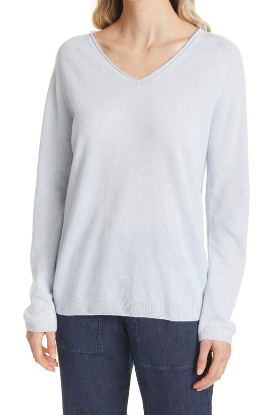 Max Mara Wools SMIRNE V-NECK WOOL & CASHMERE BLEND SWEATER