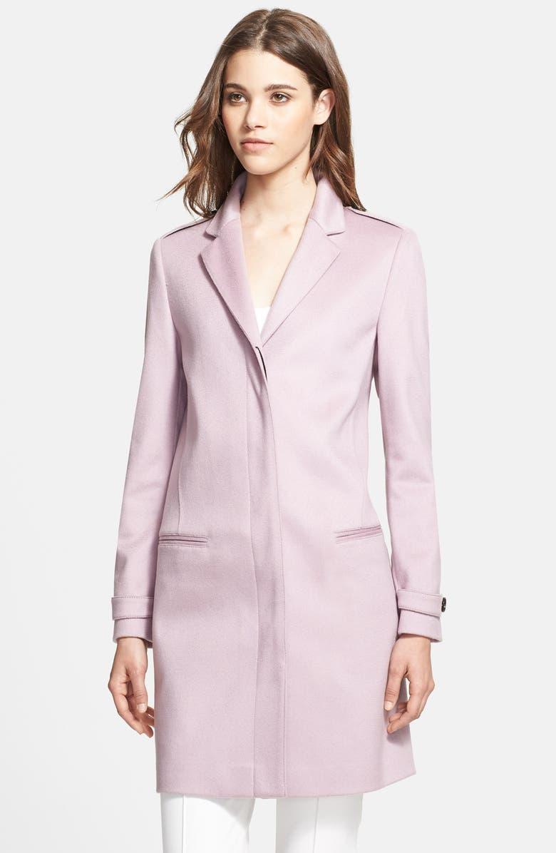BURBERRY LONDON 'Inverhillul' Cashmere Coat, Main, color, 530