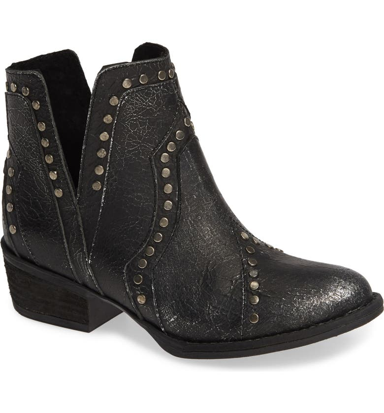 VERY VOLATILE Decode Bootie, Main, color, PEWTER LEATHER