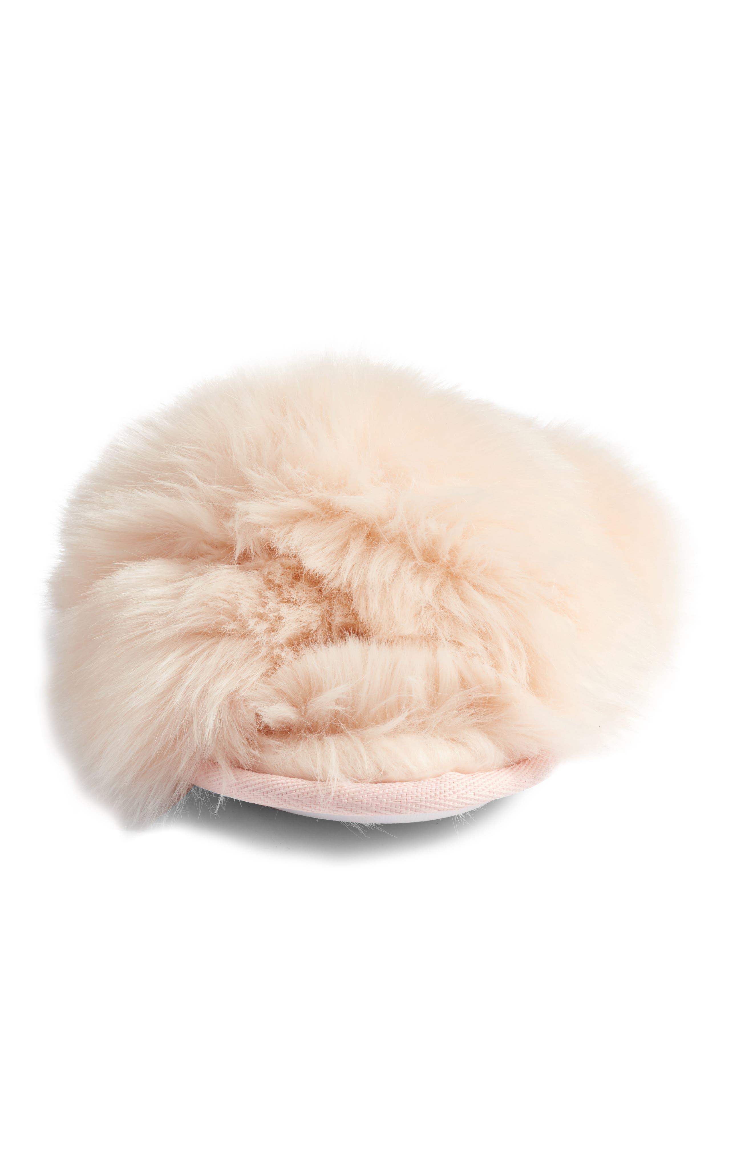 ,                             Cuddle Plush Faux Fur Scuff Slipper,                             Alternate thumbnail 18, color,                             650