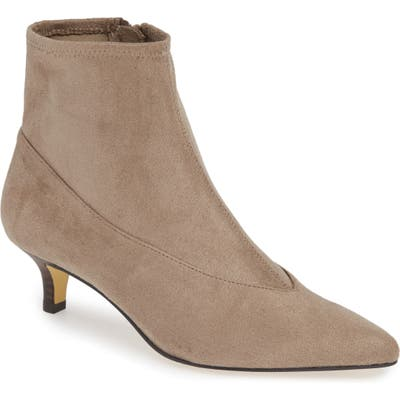 Bella Vita Stephanie Ii Stretch Bootie- Grey