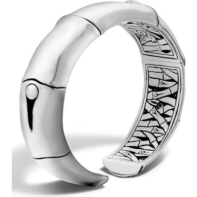 John Hardy Bamboo Silver Wrist Cuff