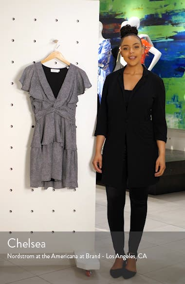 Viera Print Silk Minidress, sales video thumbnail