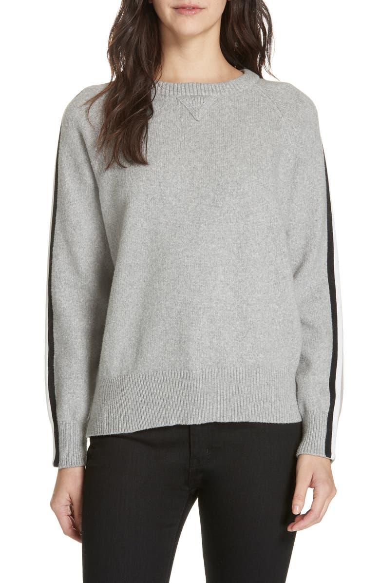 BROCHU WALKER Rheba Sweater, Main, color, HAZE GREY MELANGE