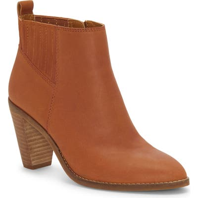 Lucky Brand Nesly Bootie, Brown