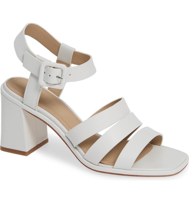 NORDSTROM SIGNATURE Livia Block Heel Sandal, Main, color, 100