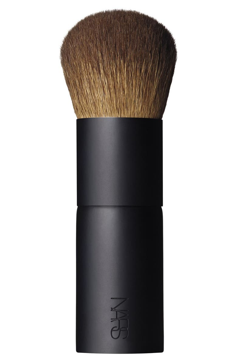 NARS #11 Bronzing Powder Brush, Main, color, NO COLOR