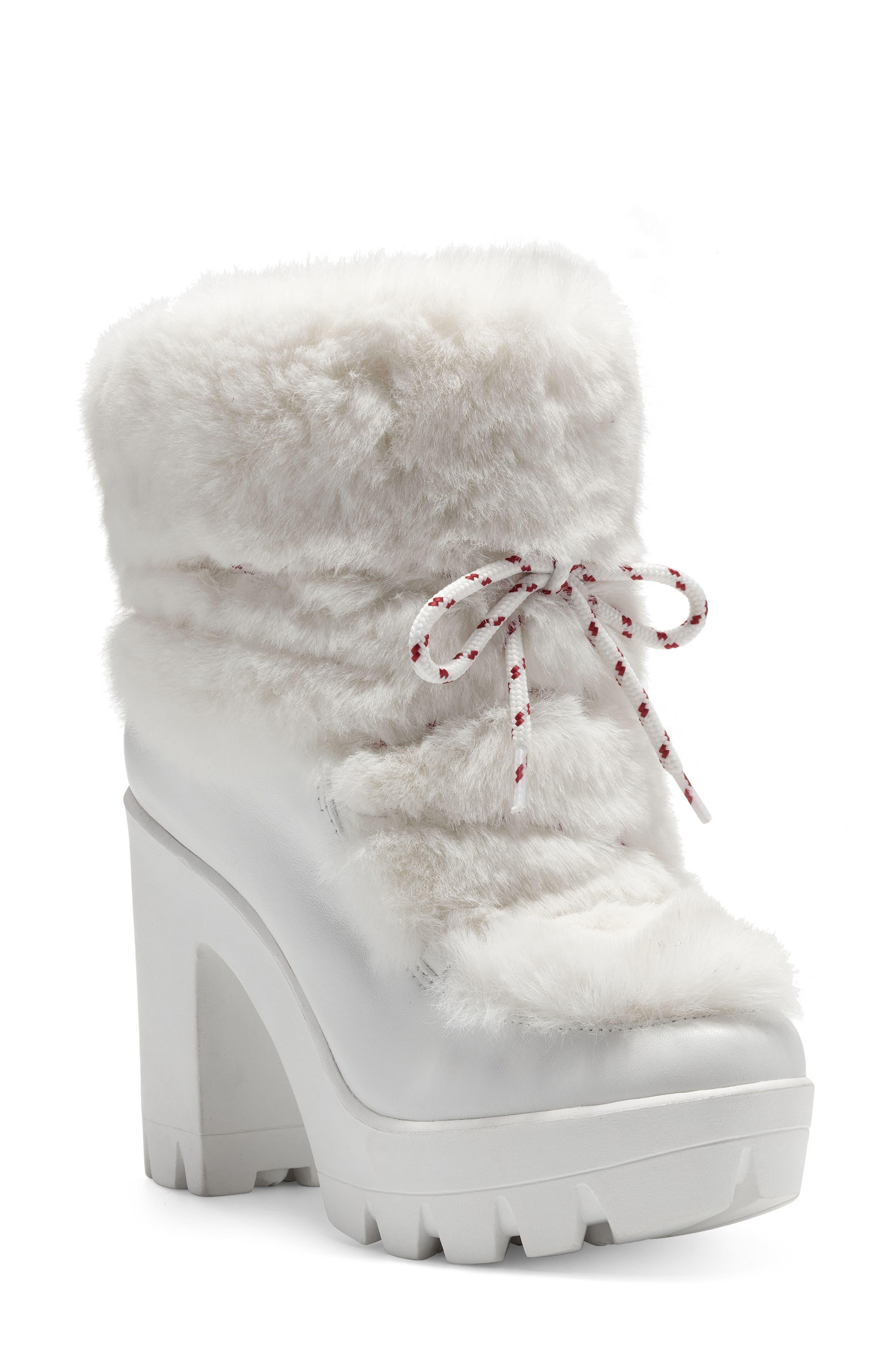 Mirie Faux Fur Platform Boot