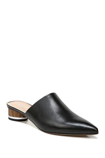 Image of Franco Sarto Viola Leather Block Heel Mule