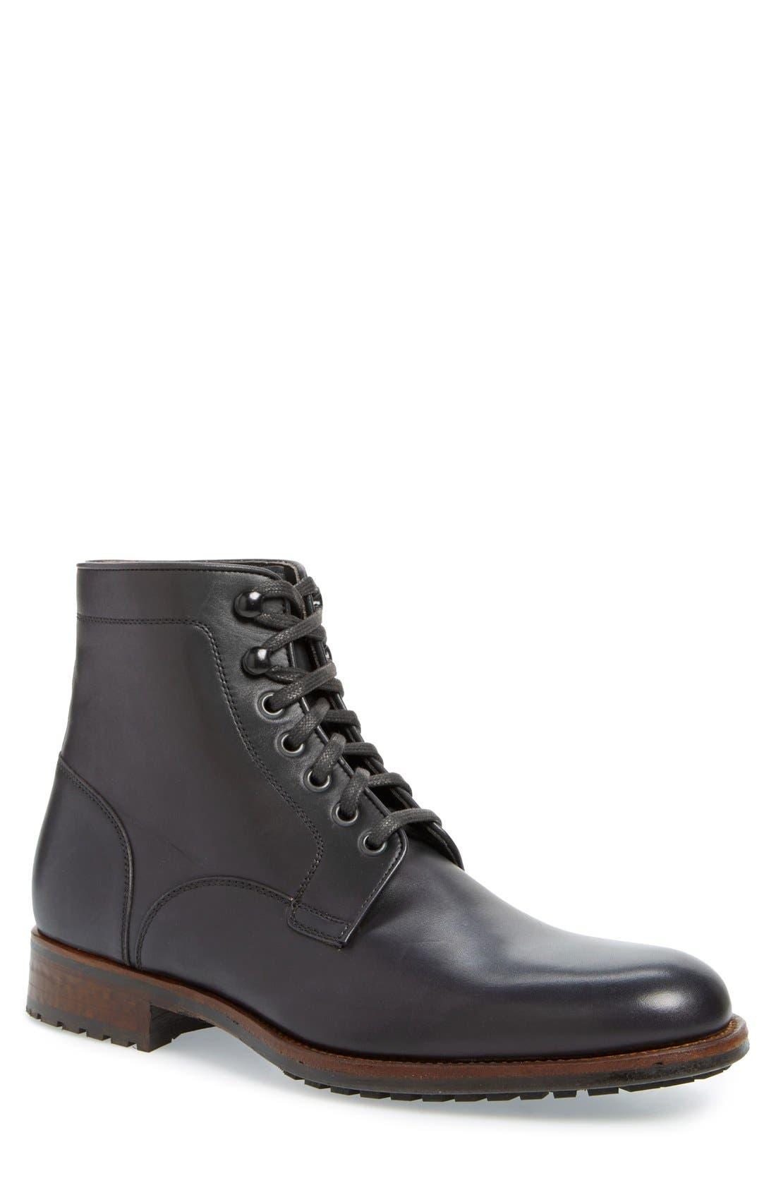 'Marcelo' Plain Toe Boot, Main, color, 001
