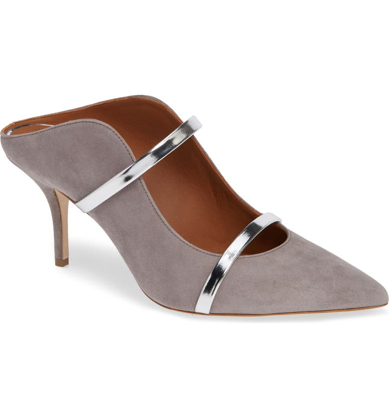 MALONE SOULIERS Maureen Double Band Mule, Main, color, 021