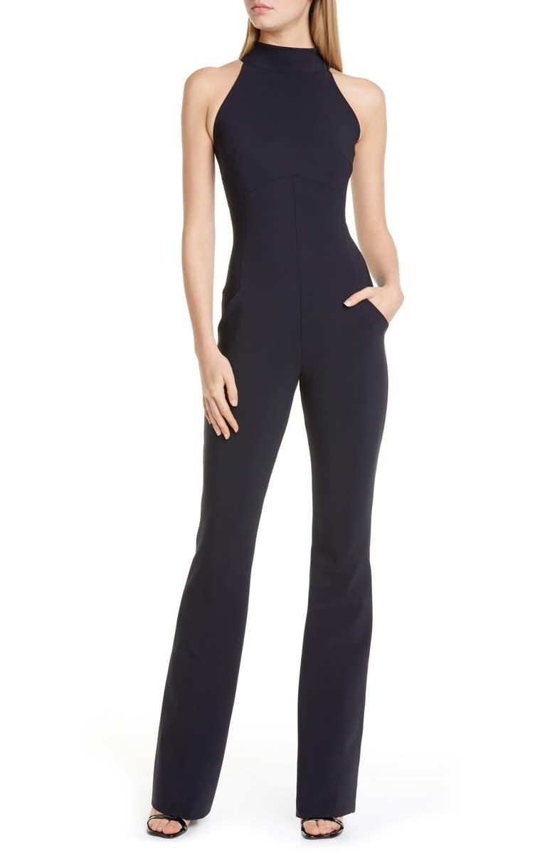 CHIARA BONI LA PETITE ROBE Jumpsuit, Main, color, BLACK