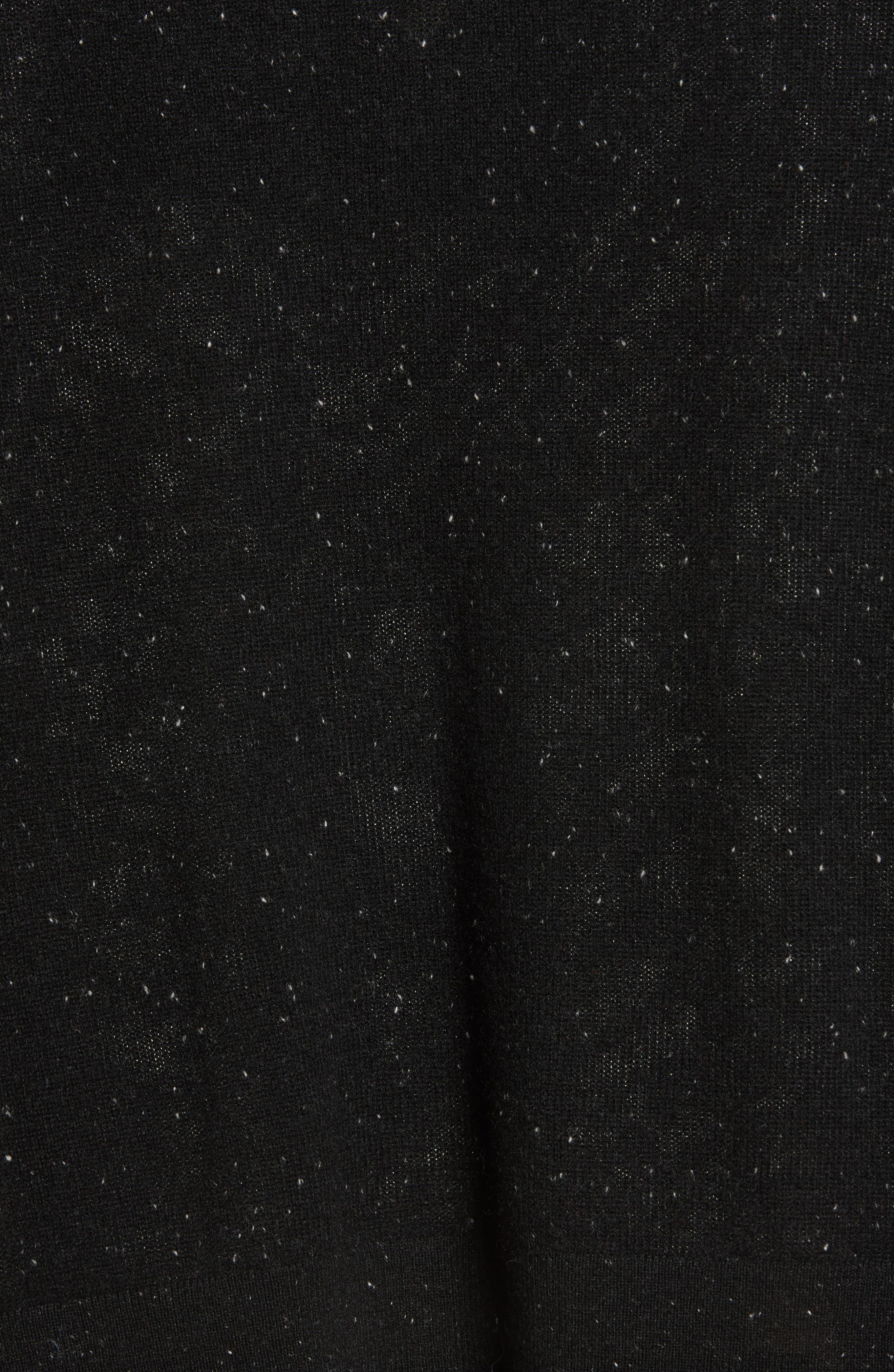 ,                             V-Neck Cashmere Sweater,                             Alternate thumbnail 5, color,                             002