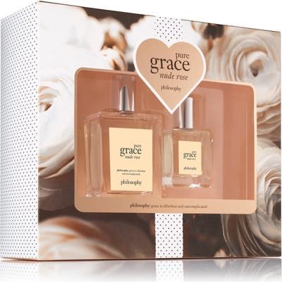 Philosophy Pure Grace Nude Rose Eau De Toilette Set ($69 Value)