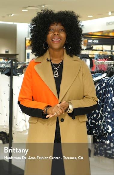 Athena Feather Hem Sequin Dress, sales video thumbnail