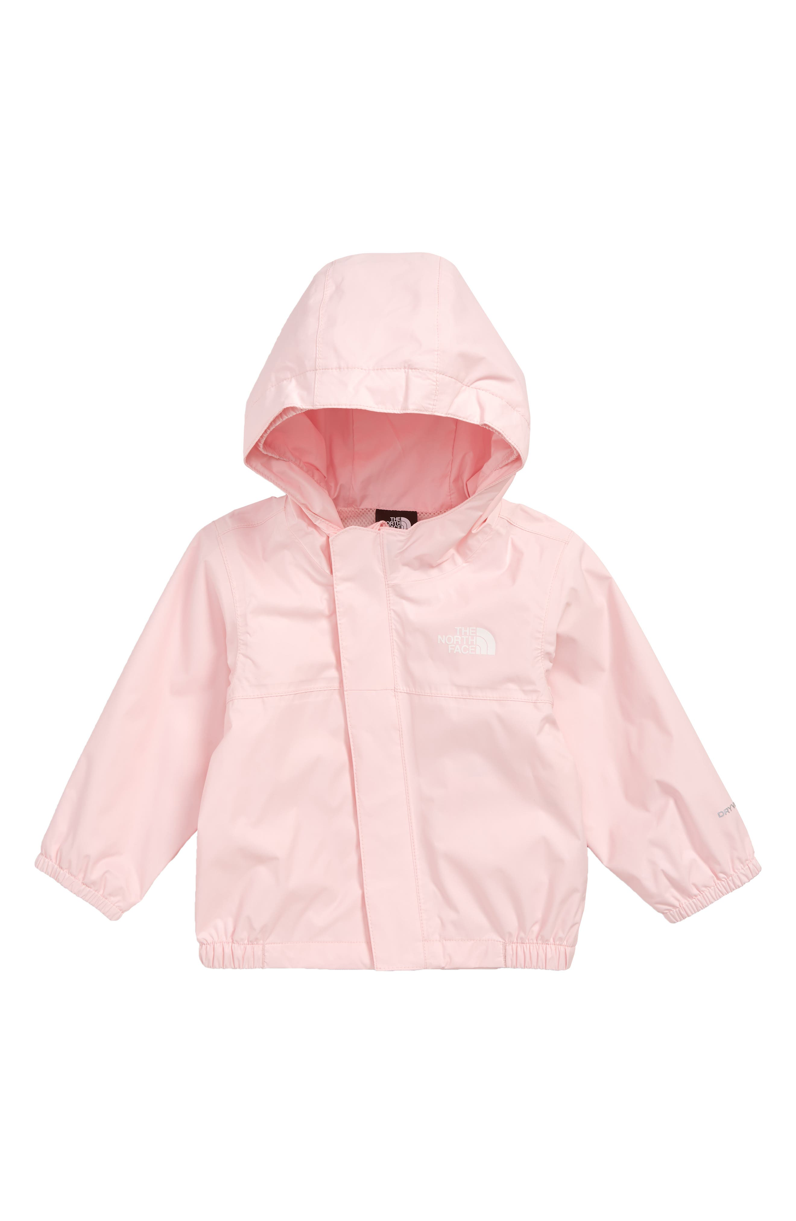 Infant Girls The North Face Tailout Waterproof Rain Jacket